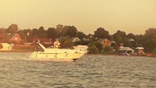 Наталия на яхте